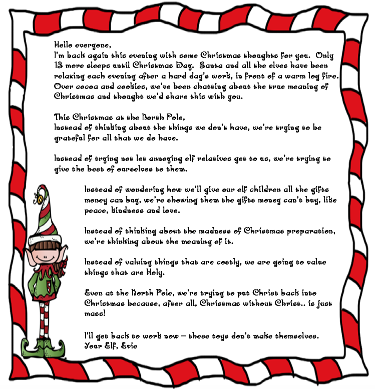 Evie the Elf\'s Christmas Message 🎄 « St Peter\'s Primary School ...